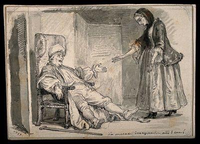 le_malade_imaginaire_argan_a_hypochondriac_complaining_of_wellcome_v0015124