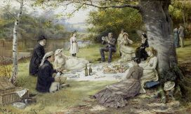 800px-George_Goodwin_Kilburne_The_Picnic