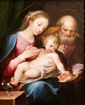 The_Holy_Family_-_Francesco_Vanni