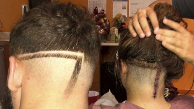 brother hair cut